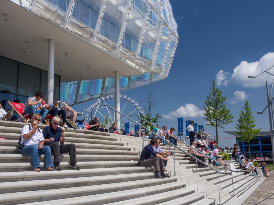 Unilever-Gebäude in Hamburgs Hafencity