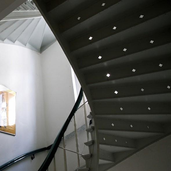 Treppe in der Jasperallee