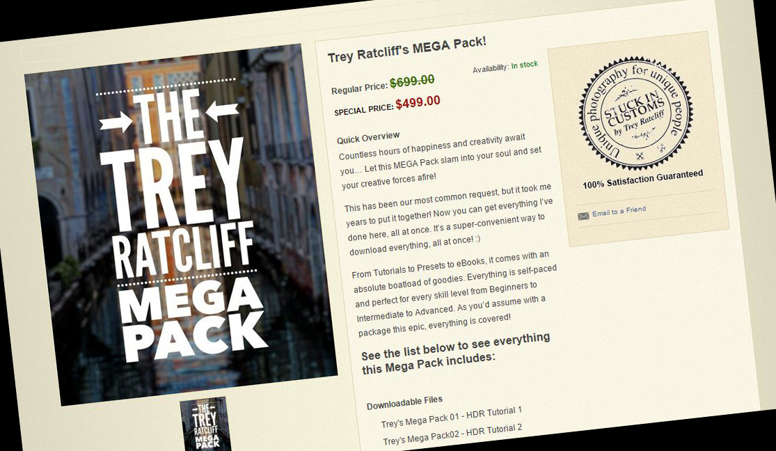 Treys Mega Pack